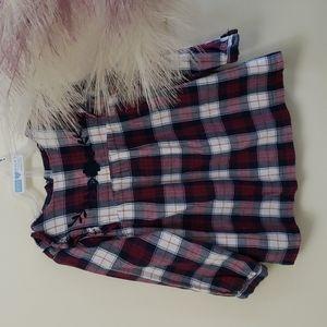 Plaid dress for toddler